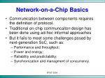 network on a chip basics