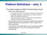platform definitions cont 3