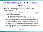 the soc challenges of the next decade cont 6