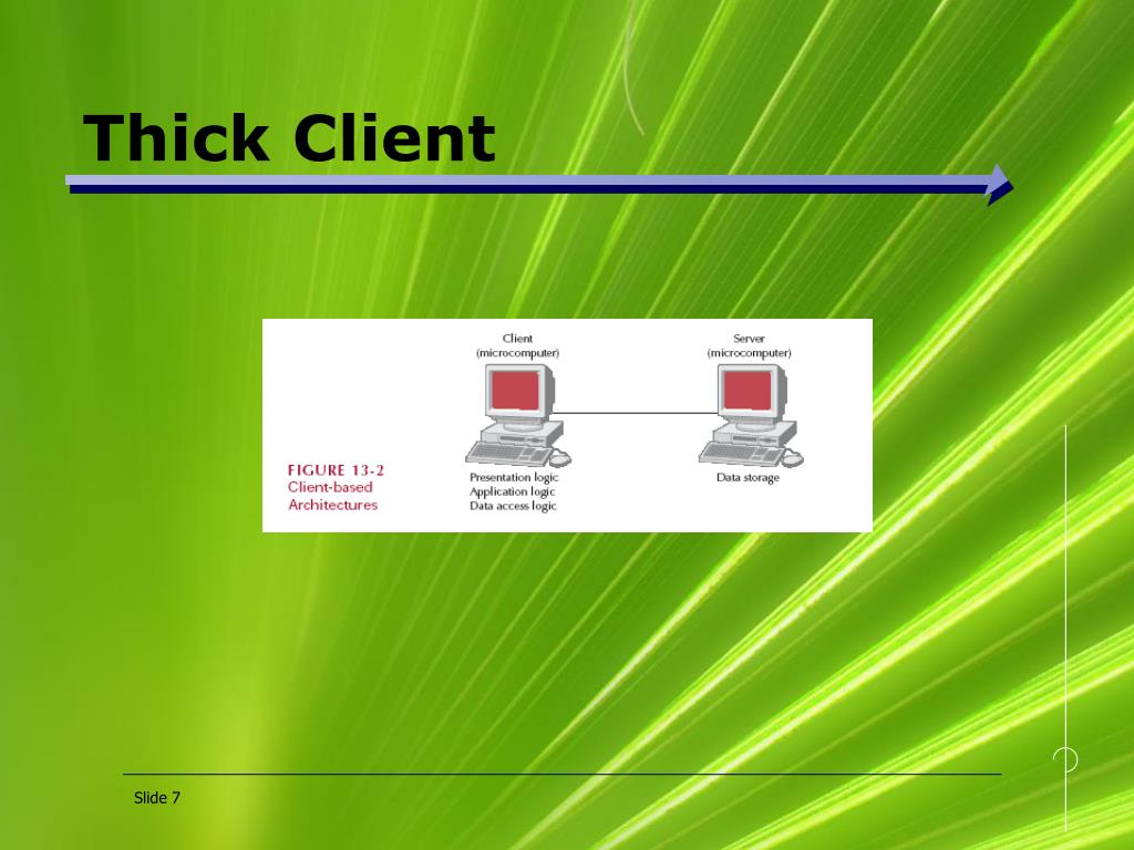 Thick Client