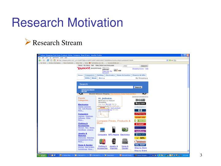 Research motivation