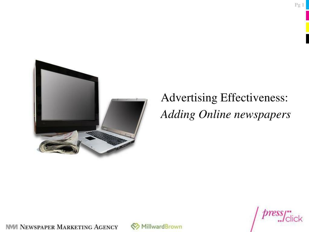 Advertising Effectiveness: