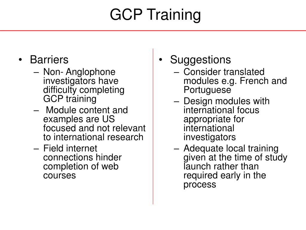 GCP Training