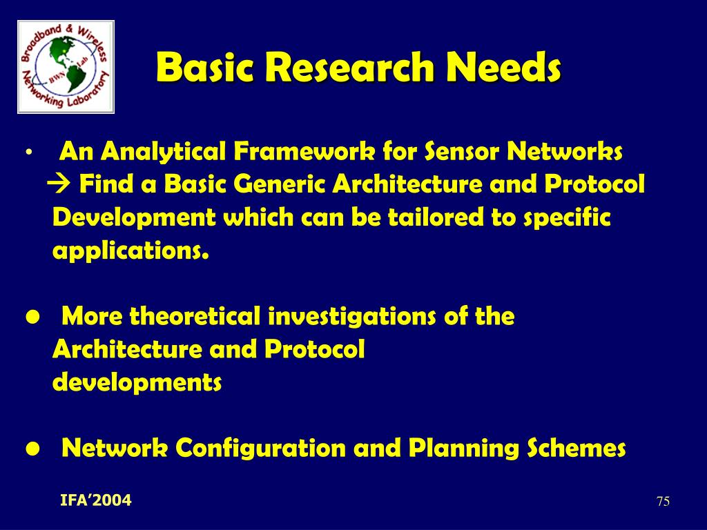Basic Research Needs
