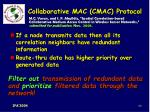 collaborative mac cmac protocol