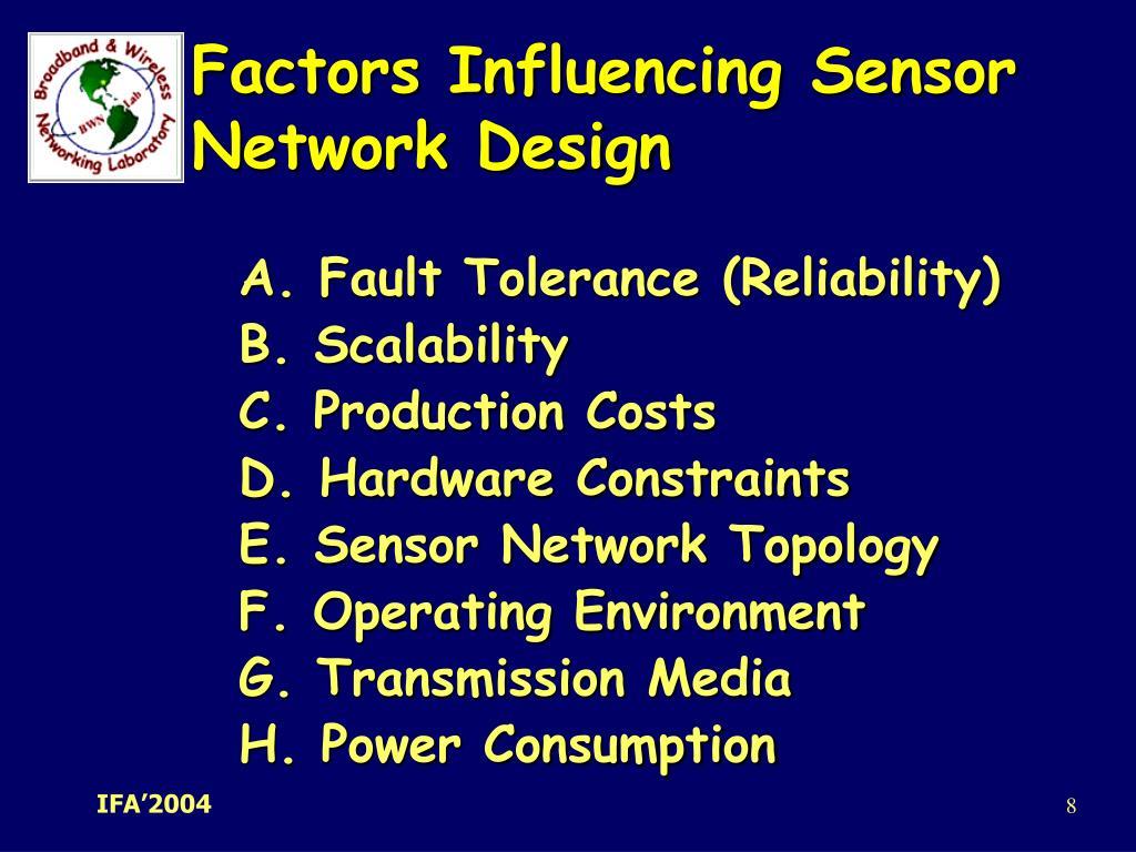 Factors Influencing Sensor