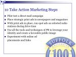 10 take action marketing steps52