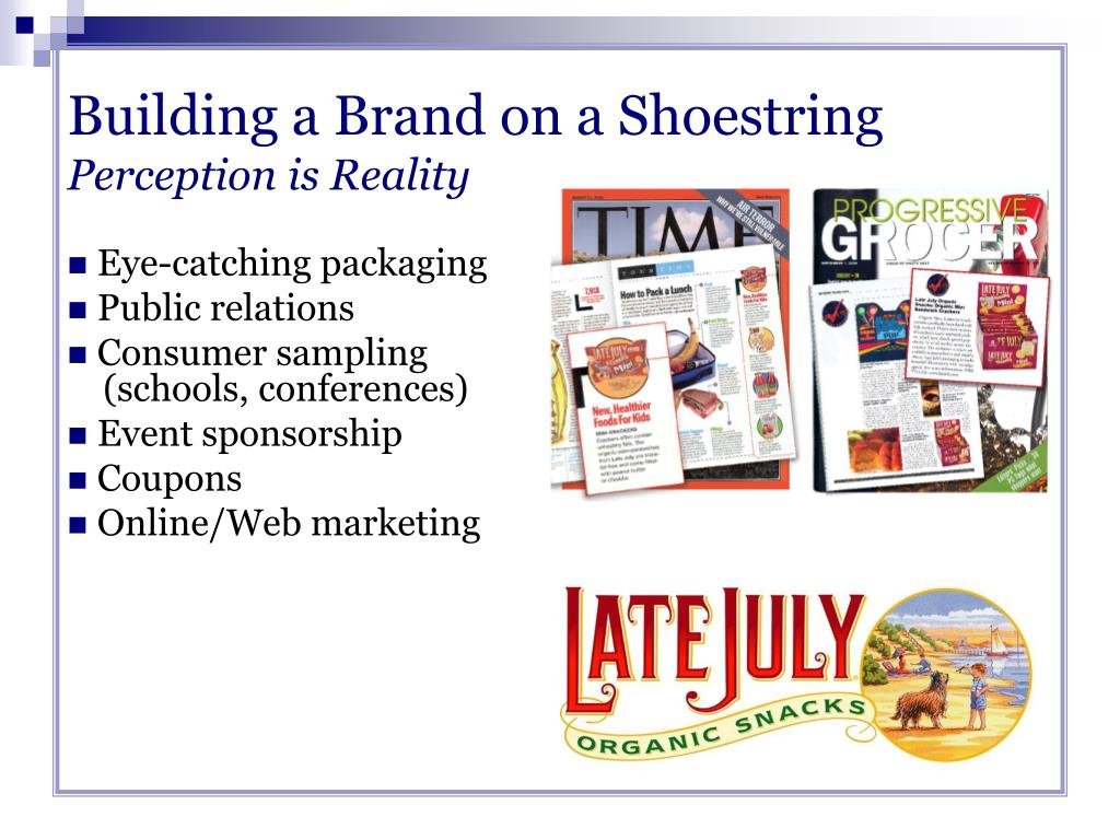 Building a Brand on a Shoestring