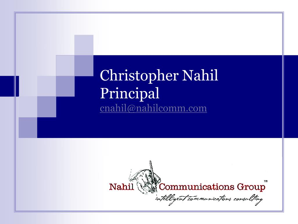Christopher Nahil