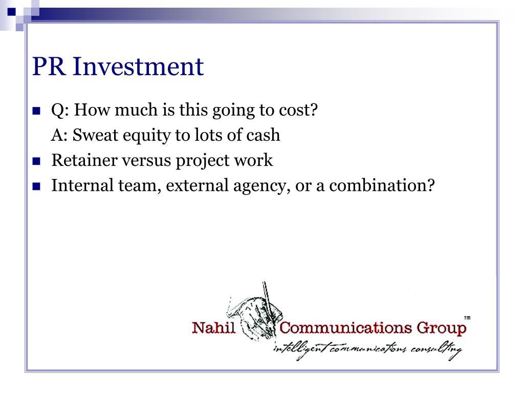 PR Investment