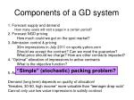 components of a gd system