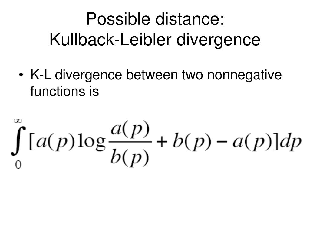 Possible distance: