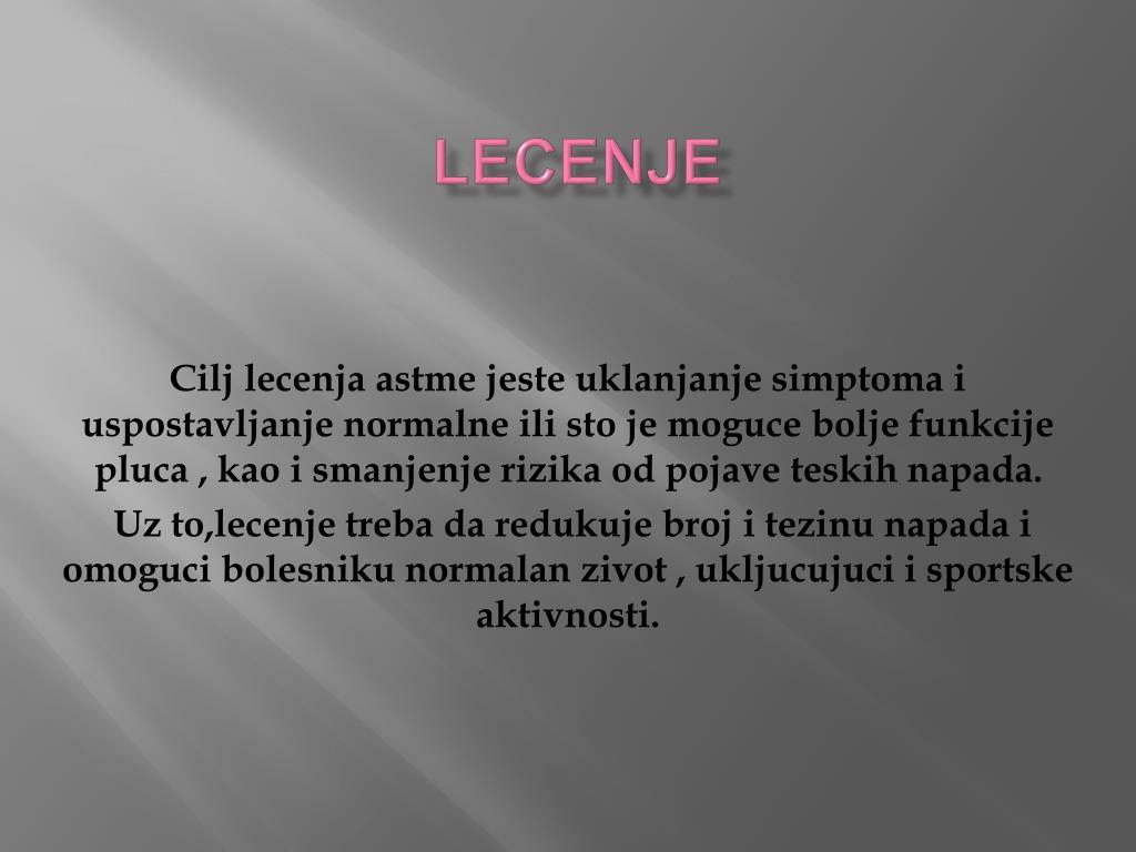 LECENJE