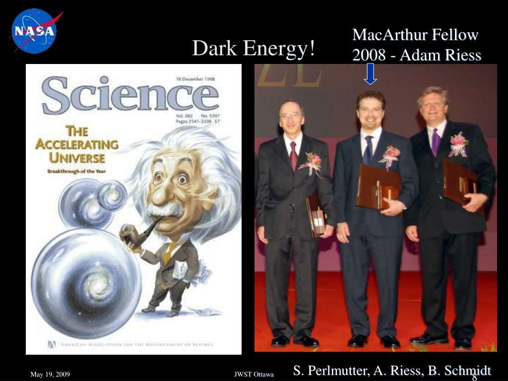 Dark Energy!