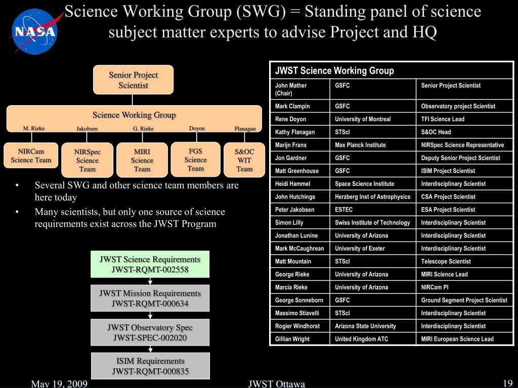 Senior Project Scientist