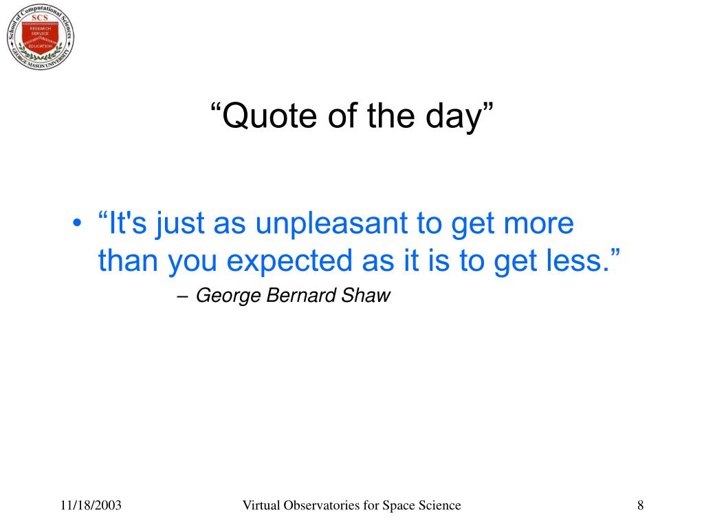 """""""Quote of the day"""""""