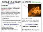grand challenge sundiver all themes