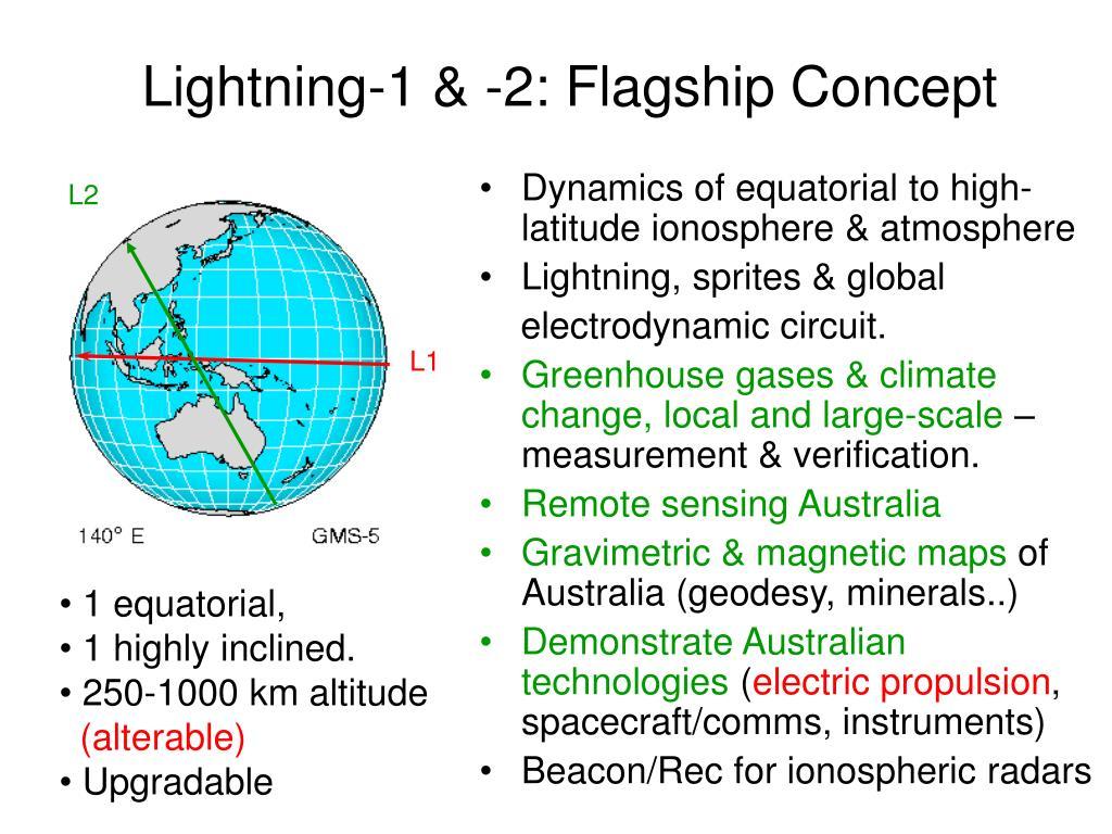 Lightning-1 & -2: Flagship Concept