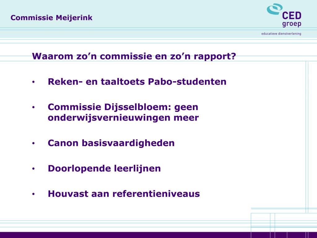 Commissie Meijerink