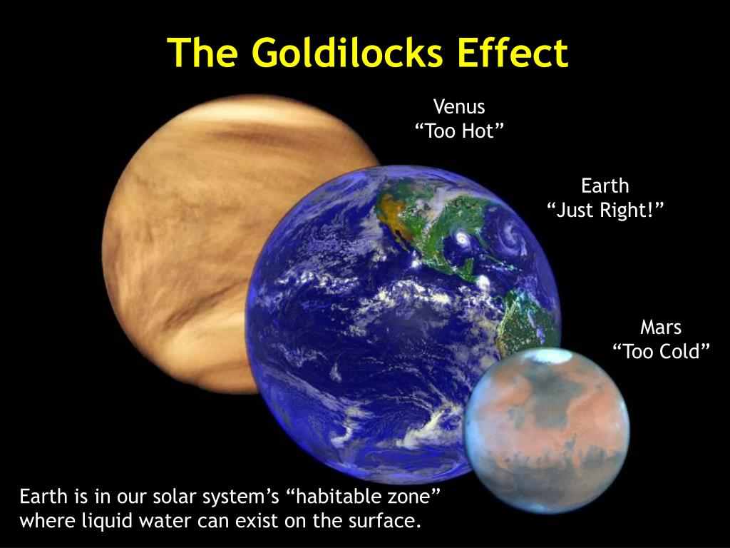 The Goldilocks Effect
