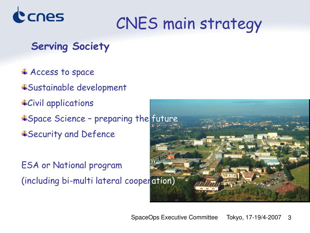 CNES main strategy