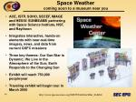 space weather coming soon to a museum near you