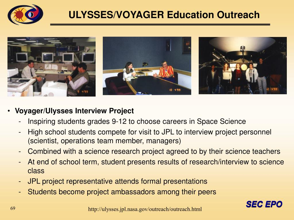 Voyager/Ulysses Interview Project