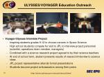 ulysses voyager education outreach