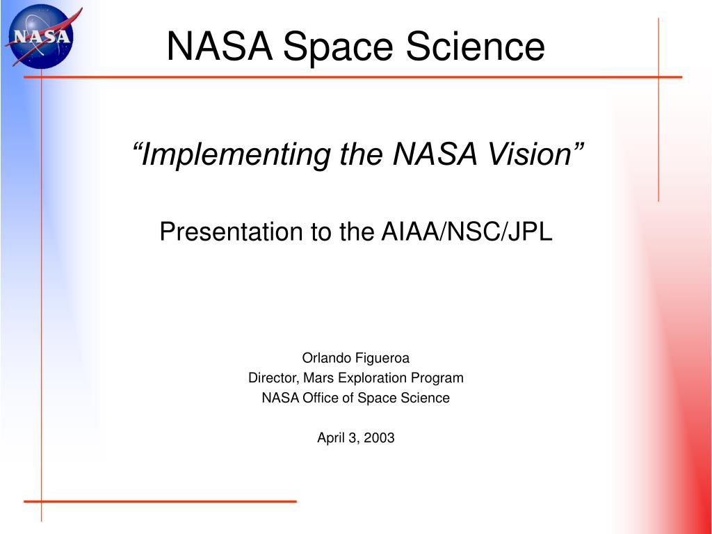 NASA Space Science