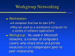 workgroup networking1