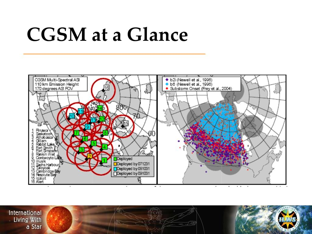 CGSM at a Glance