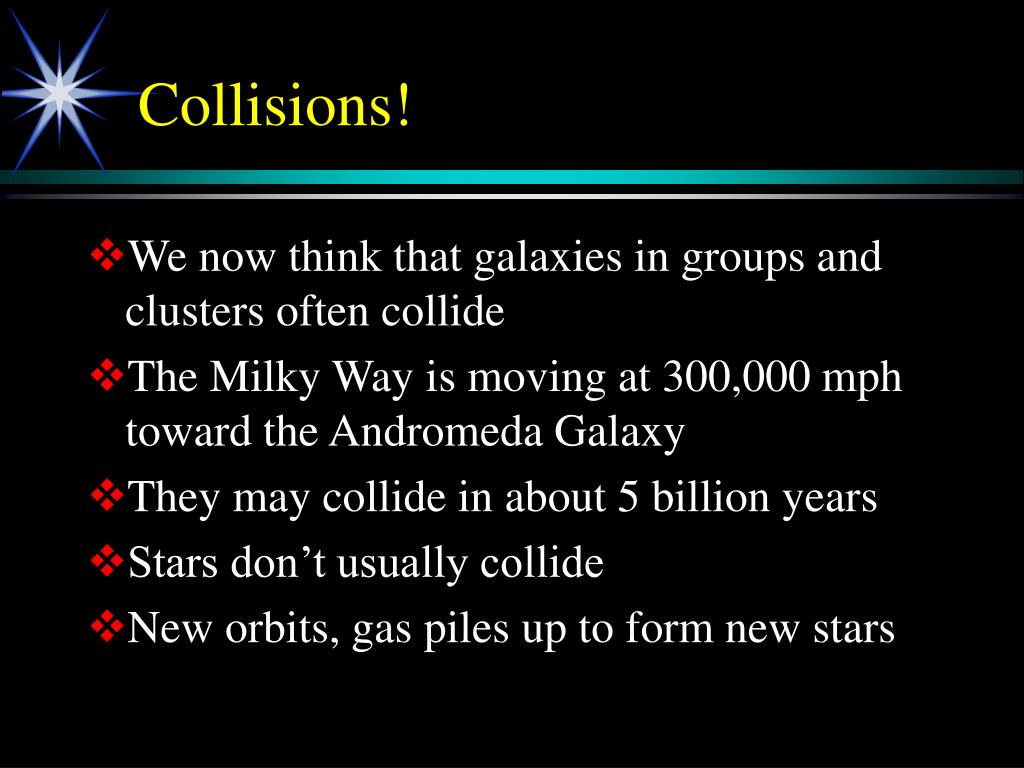 Collisions!