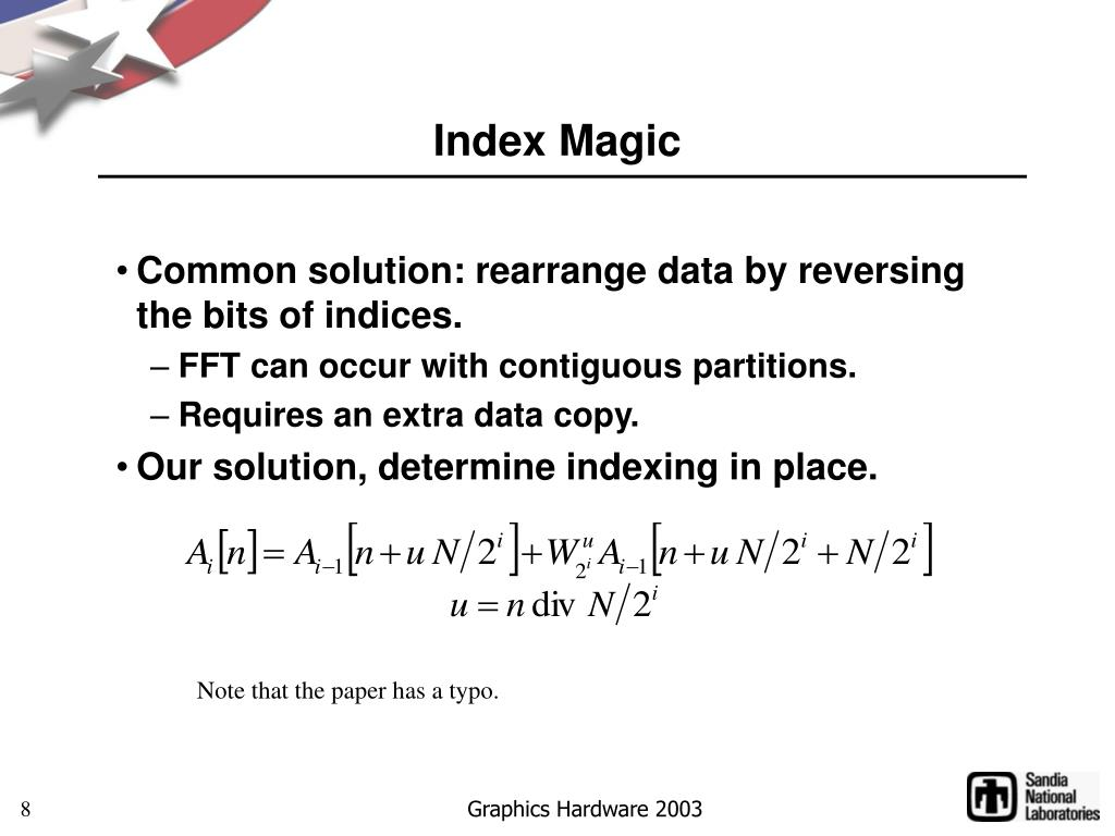 Index Magic