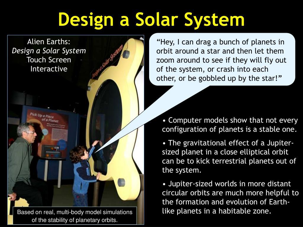 Design a Solar System