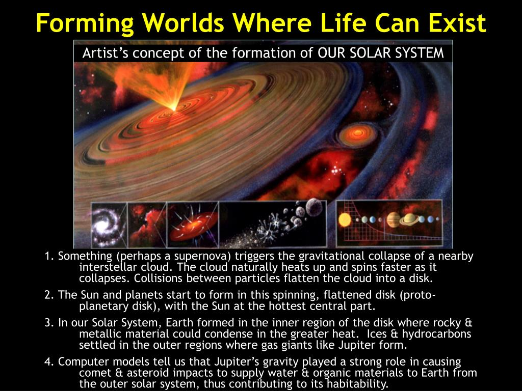 Forming Worlds Where Life Can Exist