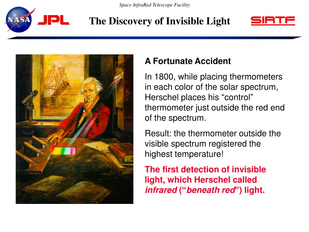The Discovery of Invisible Light