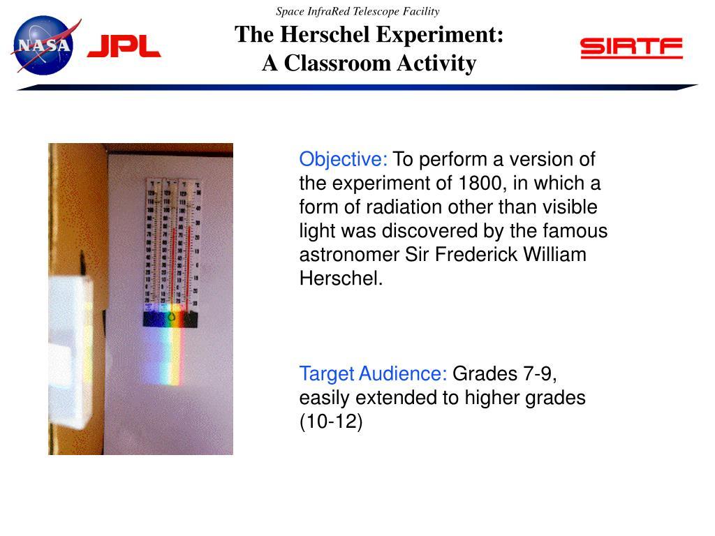 The Herschel Experiment: