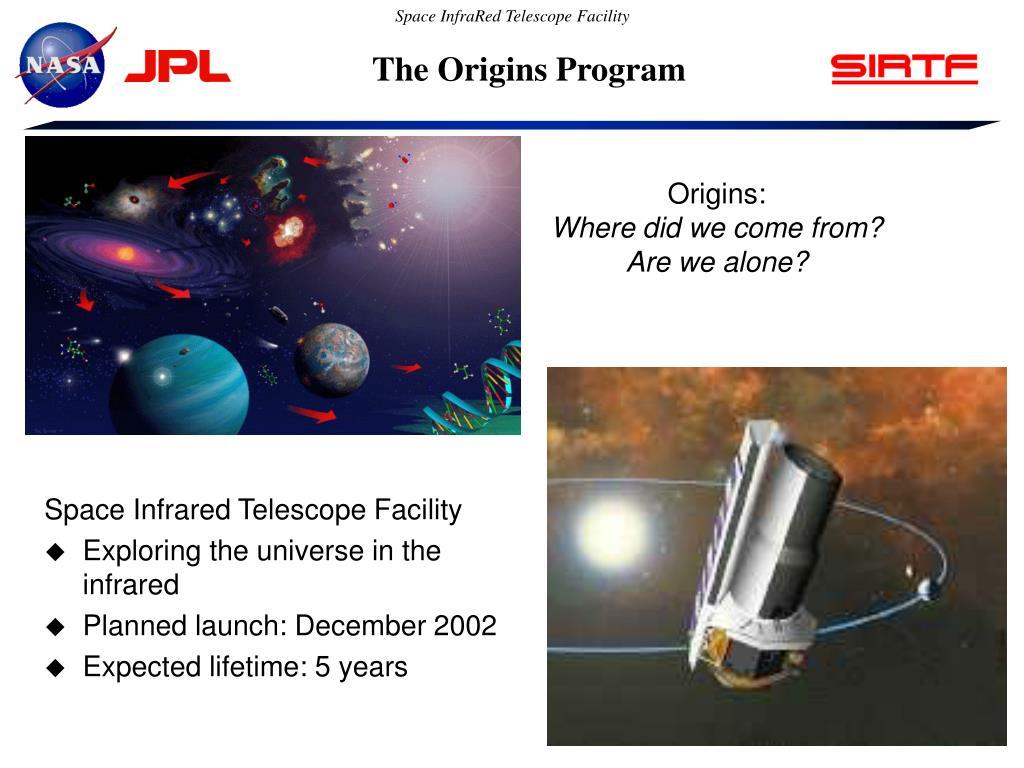 The Origins Program