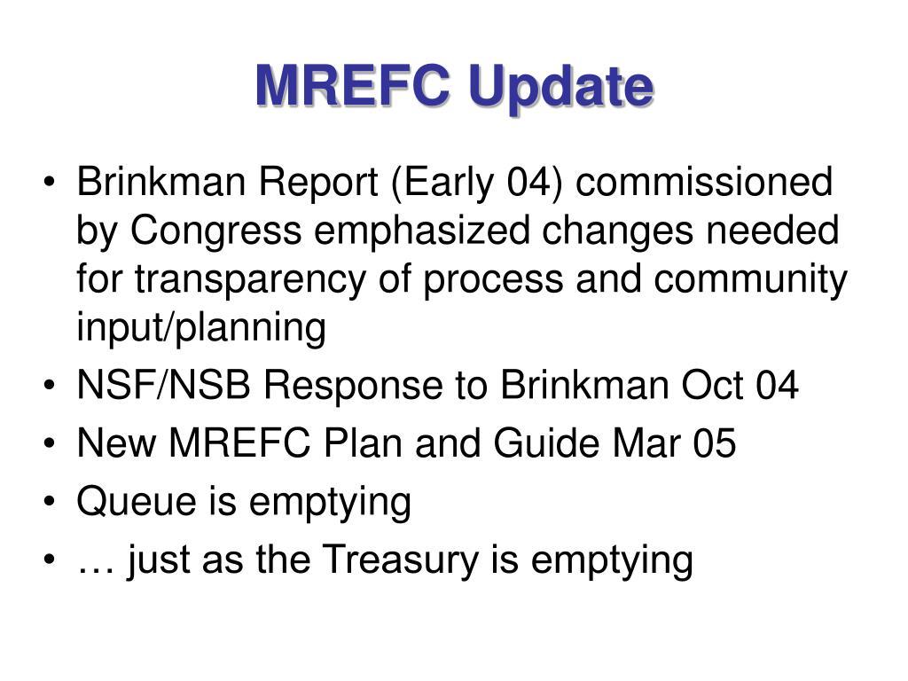 MREFC Update