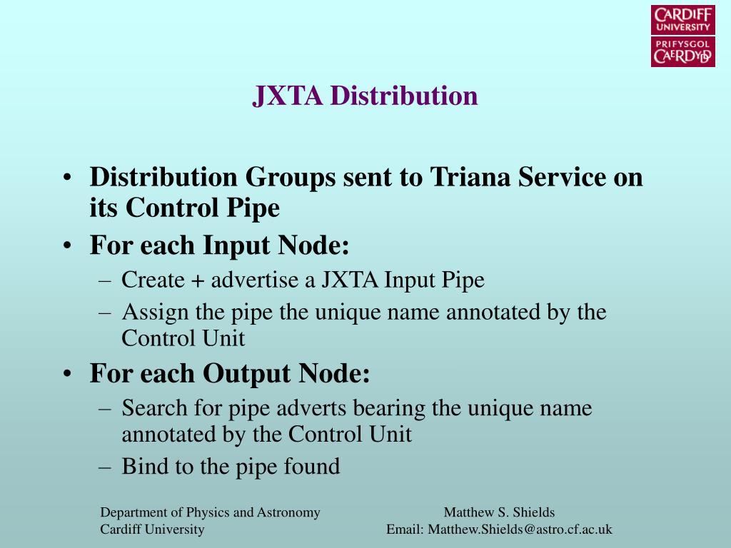 JXTA Distribution