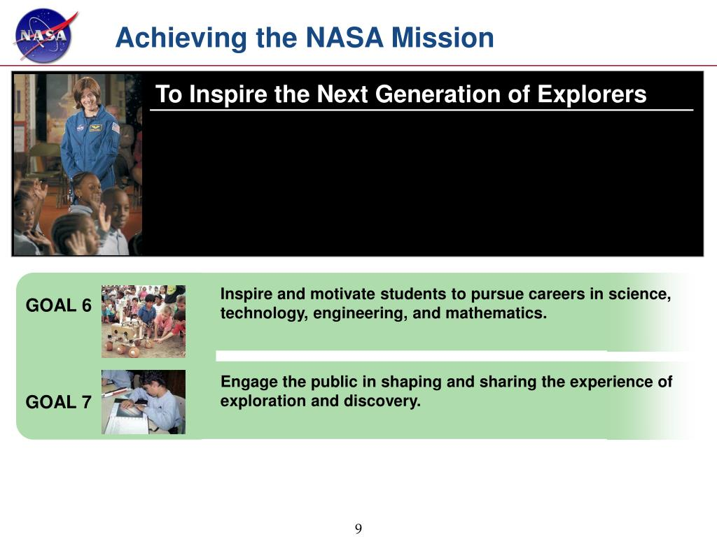 Achieving the NASA Mission