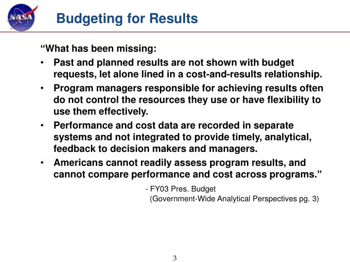Budgeting for results l.jpg