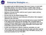 enterprise strategies will
