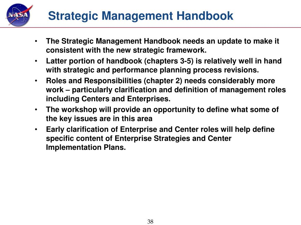Strategic Management Handbook
