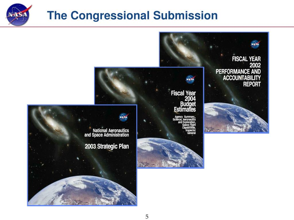 The Congressional Submission