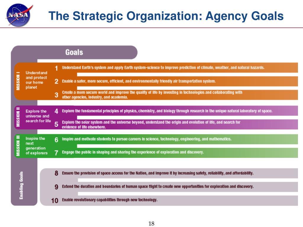 The Strategic Organization: Agency Goals
