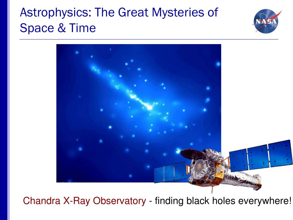 Astrophysics: The Great Mysteries of