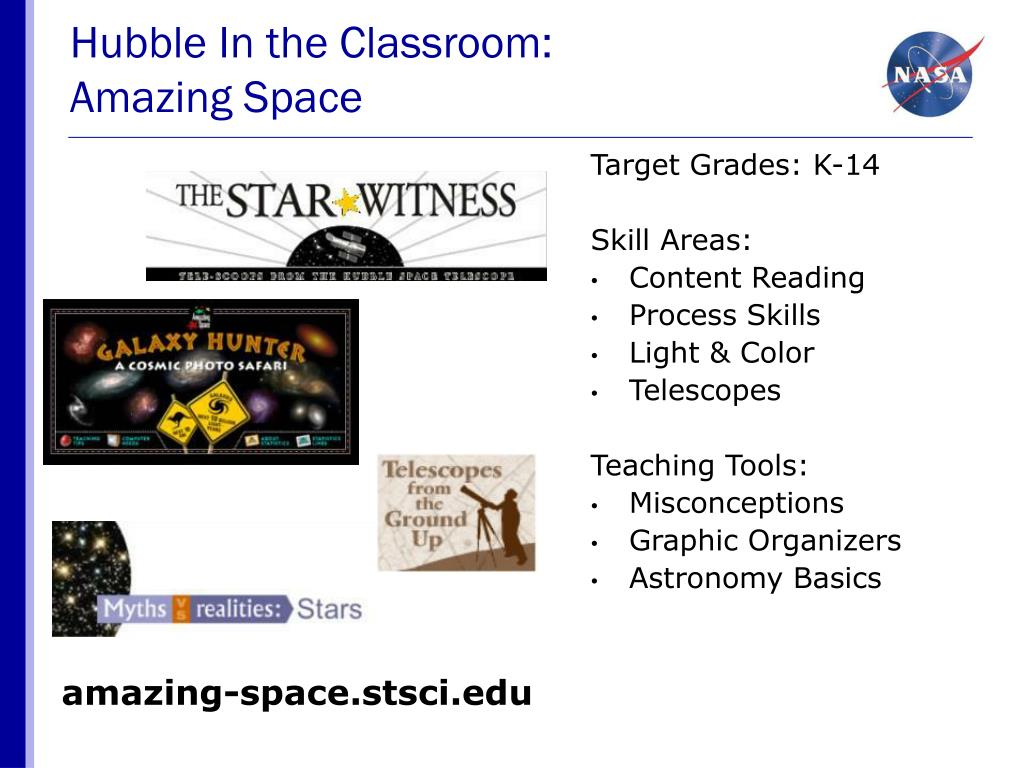 Hubble In the Classroom:
