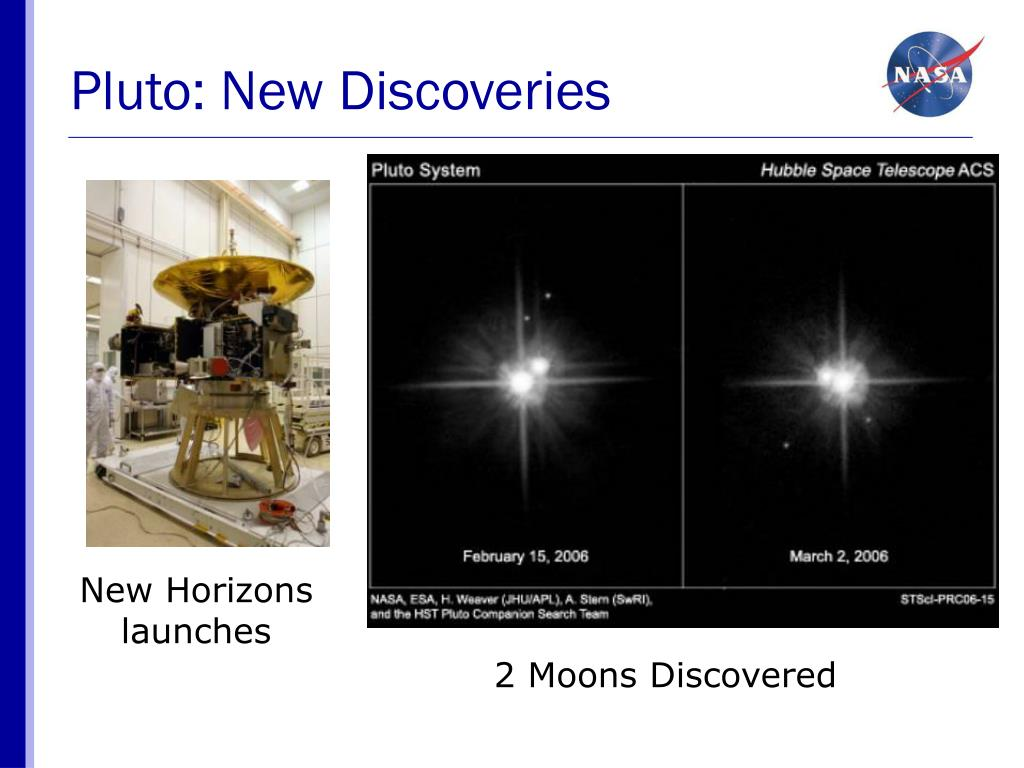 Pluto: New Discoveries