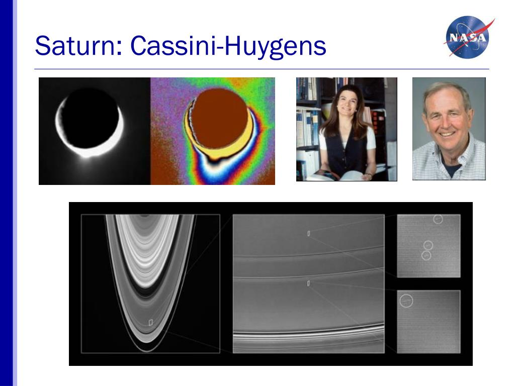 Saturn: Cassini-Huygens